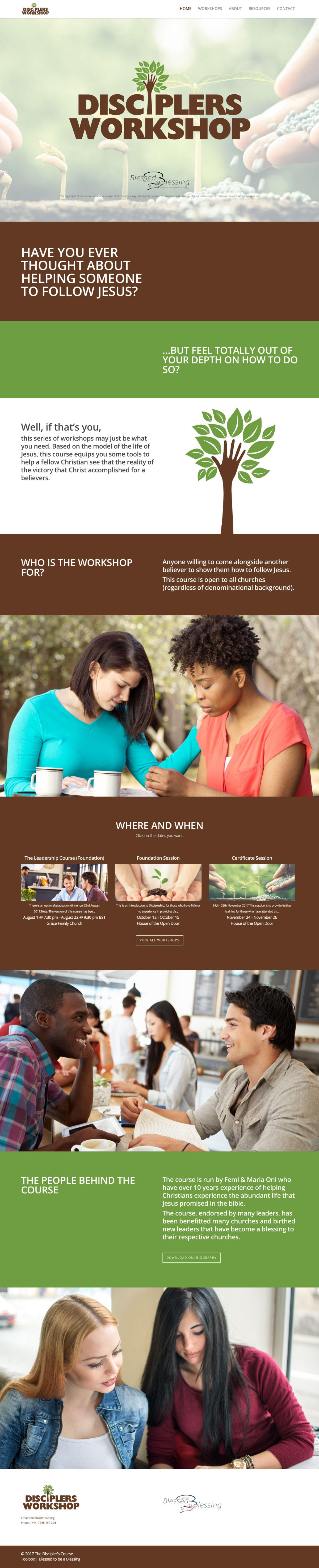 the-disciplers-workshop-design